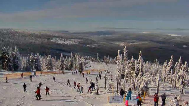 Stok narciarski na Szrenicy - Szklarska Poręba