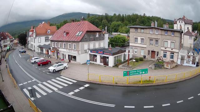 Centrum miasta - Szklarska Poręba